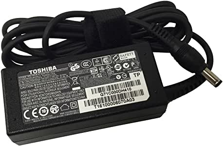Laptop Notebook Charger for Original Toshiba Satellite C55T-C5300 CL45-C4330 Adapter Adaptor Power Supply (Power Cord Included)