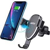 CHOETECH Caricatore Wireless Auto, gravità Ricarica Wireless da Auto 7.5W per iPhone XS/XS Max/X/8/8 Plus/Xiaomi Mix 2S, 10W per Galaxy S9/S9 +/S8/S8 +/Nota 8 e 5 W per Mate 20 PRO