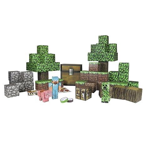 Minecraft 16703 Feindliche Mobs Papierset zum Selberbasteln 30 Teile