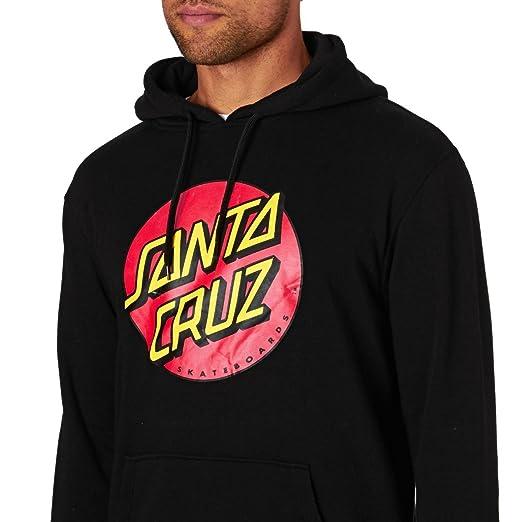 Santa Cruz Classic Dot Hood Pullover Hoody at Amazon Mens Clothing store: