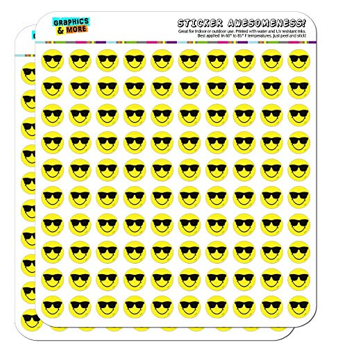 Smiley Smile Happy Sunglasses Yellow Face 1/2
