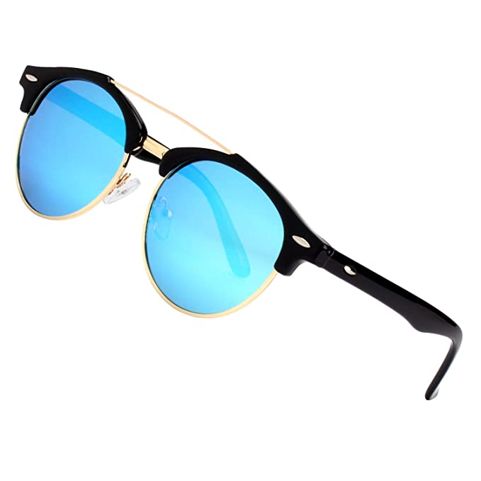 GQUEEN Dapper Fashion Brow crossbar gafas de sol polarizadas Brand Designer GQ52