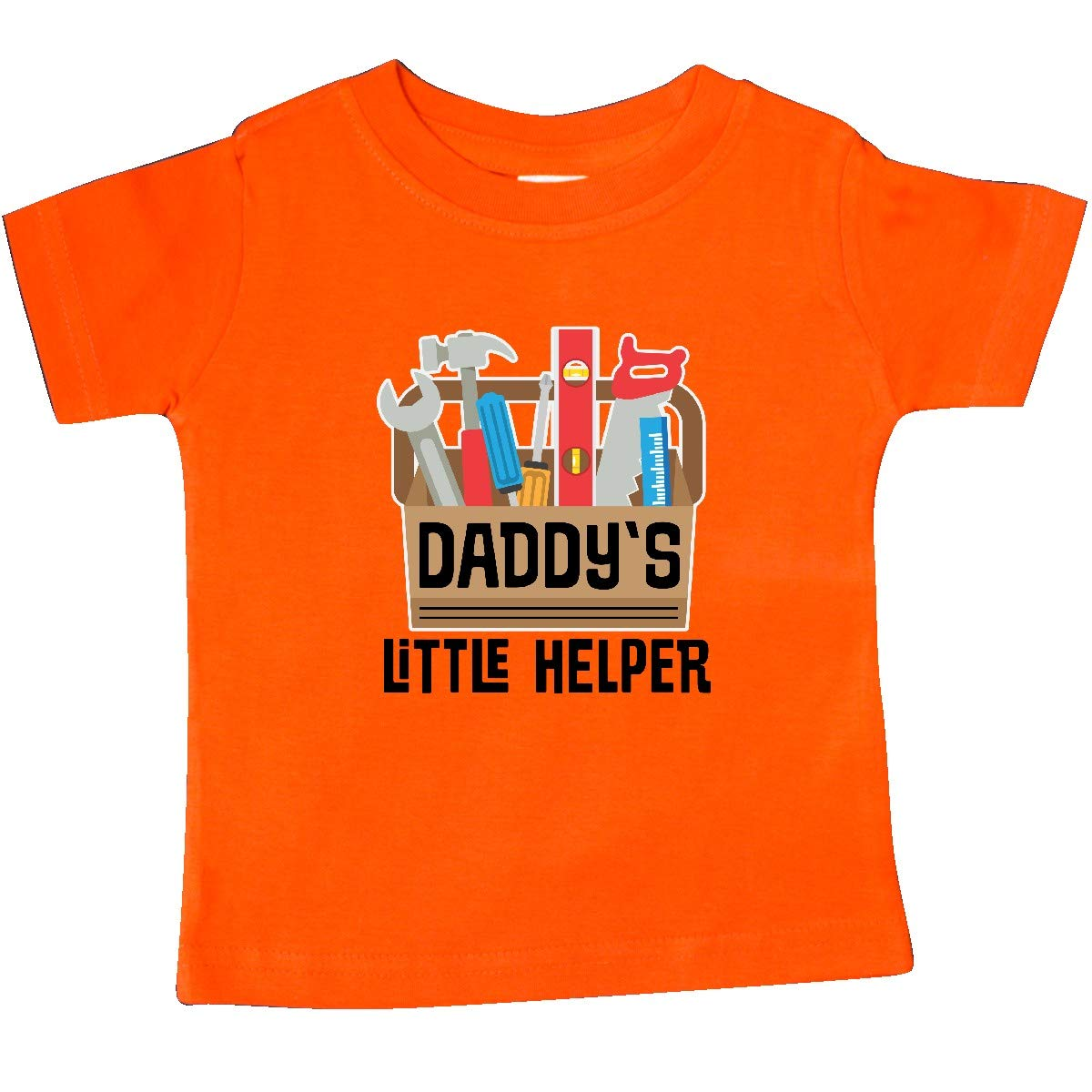 inktastic Daddys Little Helper Outfit Tool Box Baby T-Shirt