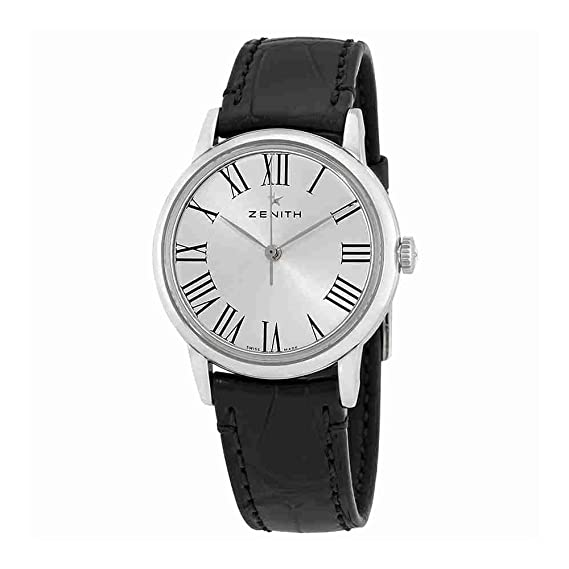Zenith Elite automático plata Dial Damas Reloj 03.2330.679/11.c714