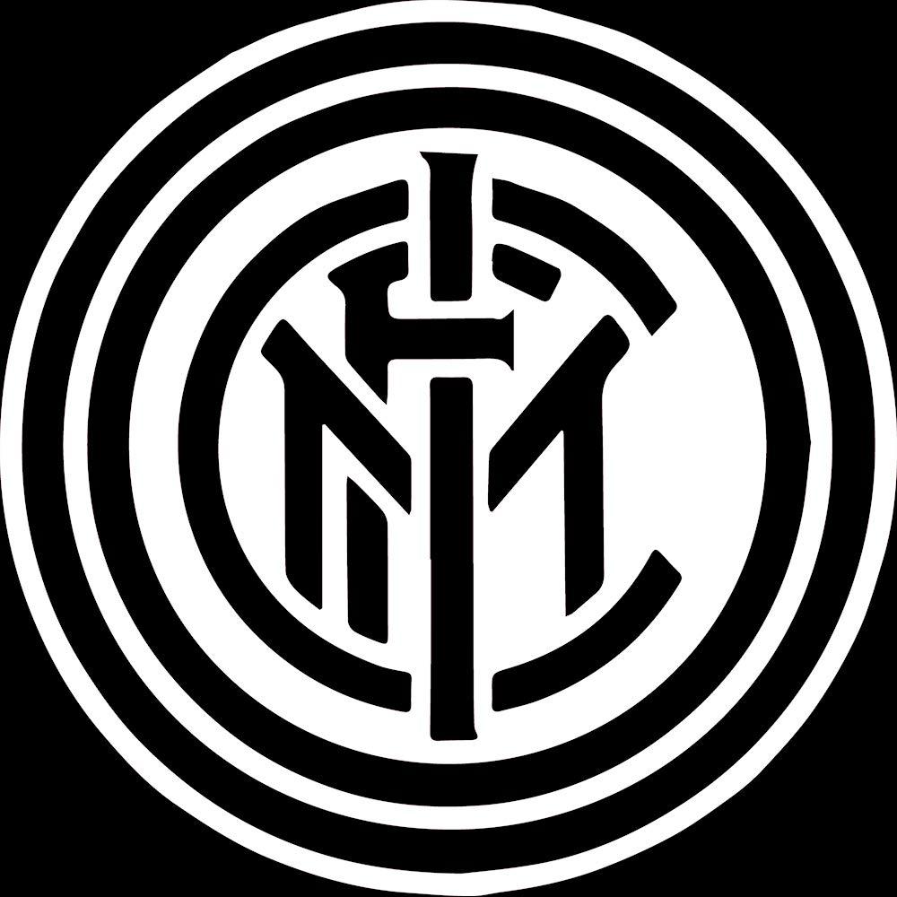 Inter Milan Logo Black And White