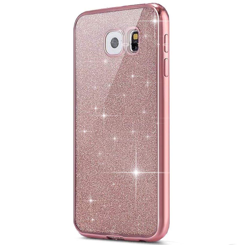 Funnytech/® Funda Silicona para Samsung Galaxy A5 2017 B/úhos Enamorados Acuarela Rosa Gel Silicona Flexible, Dise/ño Exclusivo
