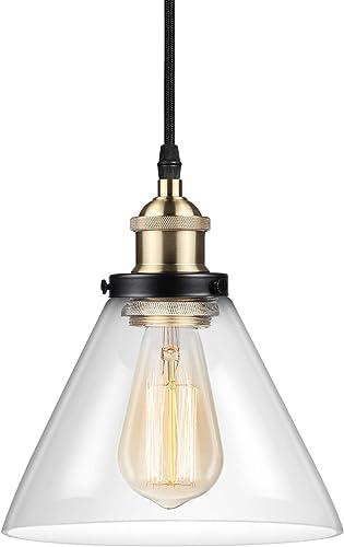 Ascher Industrial Edison Vintage Pendant Light