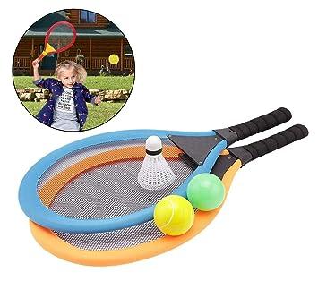 Joyibay Raqueta De Tenis para Niños Conjunto Raqueta De ...