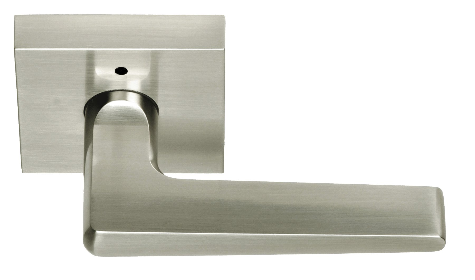 Better Home Products Tiburon Privacy Left Hand Lever, Satin Nickel