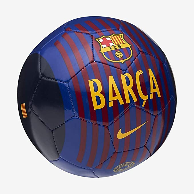 Nike Barcelona Skills - Pelotas de fútbol (Black,Blue,Red,Yellow ...
