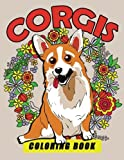 Corgis Coloring Book: Dog Coloring Book for Adults by Tiny Cactus Publishing