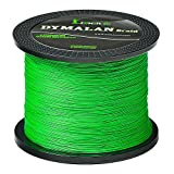 JIMEI Braid Fishing line 4 Strands 20LB 100M/109YDS Diameter 0.18mm Grass Green PE Braided line Super Strong and Thin for River&sea&ice&Fly Fish with Saltwater or Freshwater by Dymalan For Sale