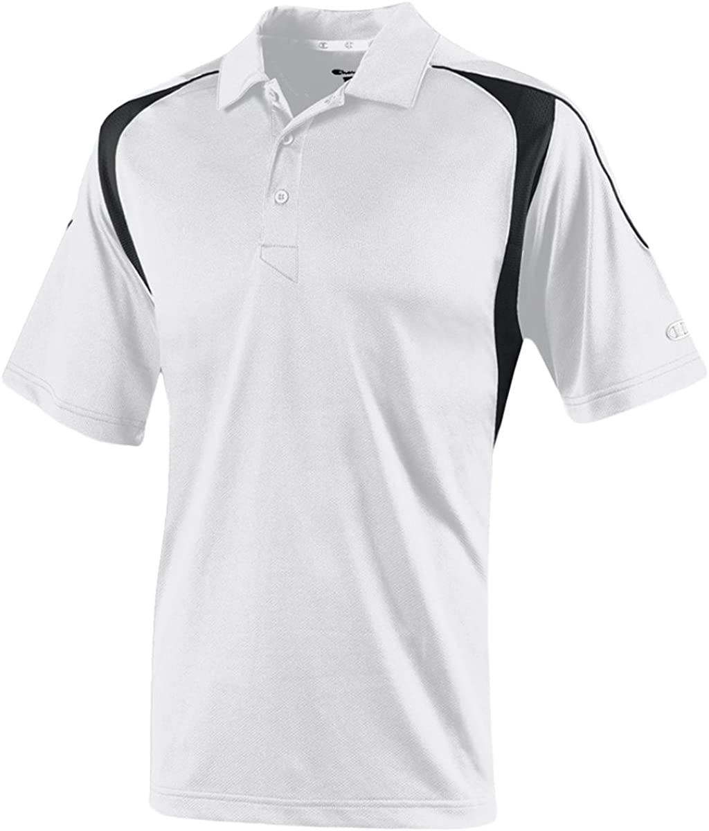 Champion Mens Athletic H316 Double Dry Elevation Polo