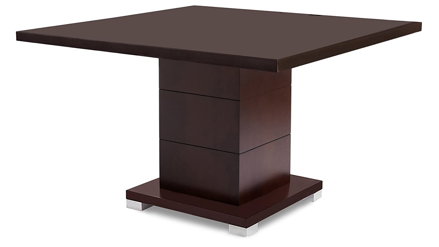 Ford Executive Modern Conference Table in Dark Walnut Wood – Square