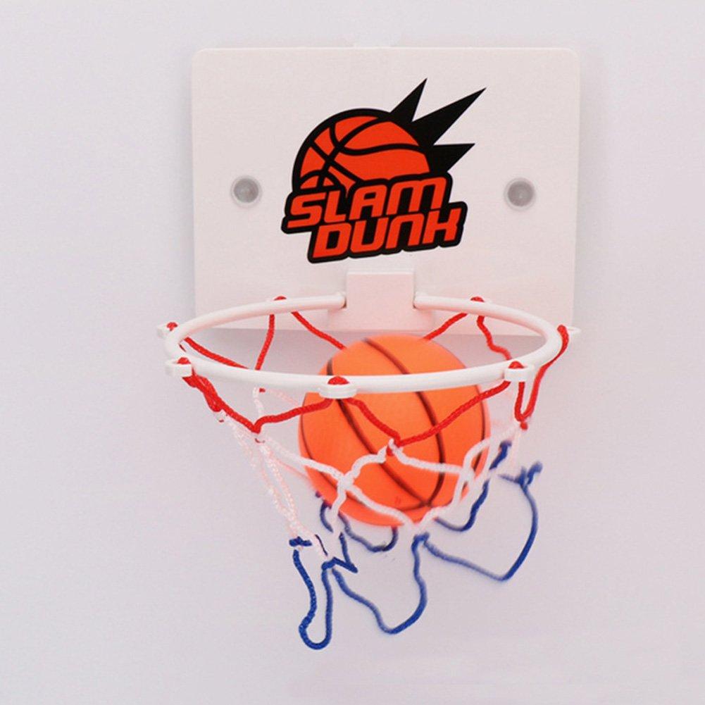 Woopower Juego de Baloncesto para Niñ os, para Uso en Interiores, para Montar en la Pared, Divertido Juego de Baloncesto para Niñ os, Mini Tabla de Baloncesto Colgante con Bola y Bomba para Niñ os Divertido Juego de Baloncesto para Niñ
