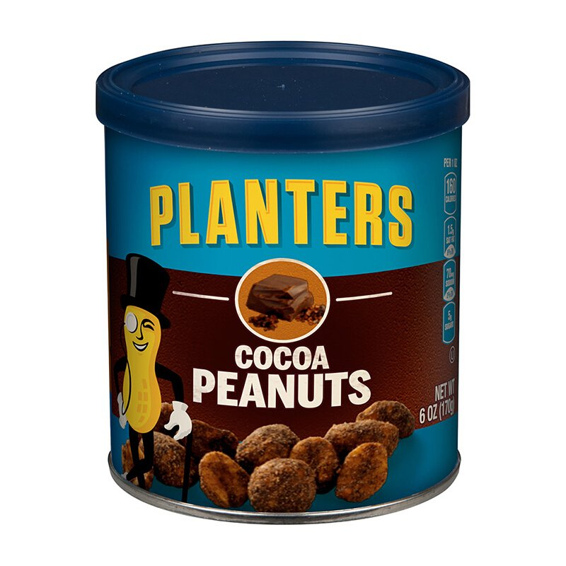 Planters Cocoa Peanuts 6 Oz (Pack of 2)