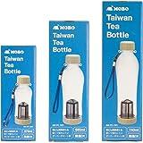 MOBO 台湾ボトル 「 Taiwan Tea Bottle 」 茶こし付きボトル 【 370ml 】 中国茶 ・ 緑茶 ・ 紅茶 などに 洗いやすい ・ 軽い ・ 割れにくい 台湾で人気のお茶用ボトル AM-PC-301