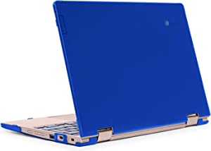 """mCover Hard Shell Case for Late-2019 11.6"""" Lenovo C340 Series 2-in-1 Convertible Chromebook Laptop (NOT Fitting Lenovo C330 N21 N22 N23 N24 100E 300E 500E Flex 11 Yoga 11e) (LEN-C340 Blue)"""