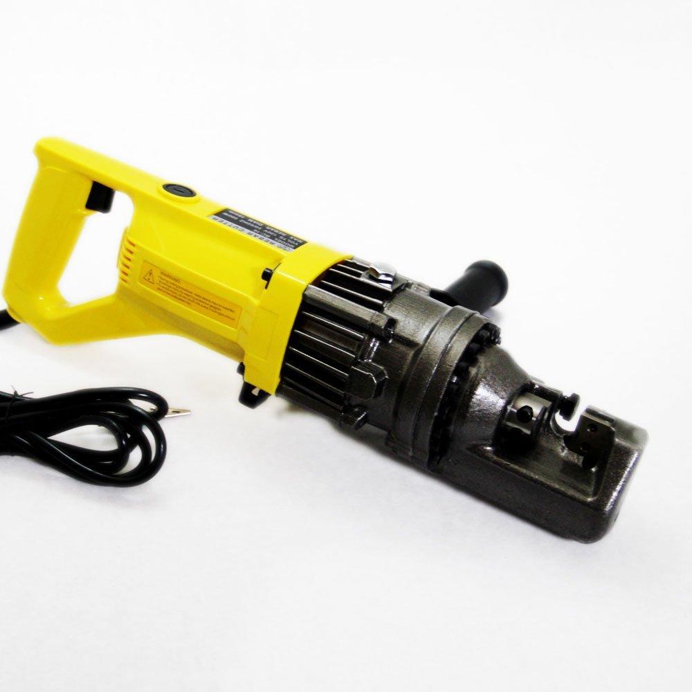 鉄筋カッター 電動油圧 (イエロー) RC-16 900W/切断4mm~16mm B01G1504EO イエロー