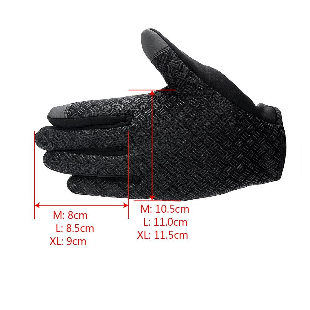 Guantes de motocicleta para deportes al aire libre trabajo escalada guantes de esqu/í de invierno