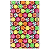 Candy Clover Strawberry Fruit Pattern Decorative Decal Cover Skin for Nintendo Wii U Console and GamePad