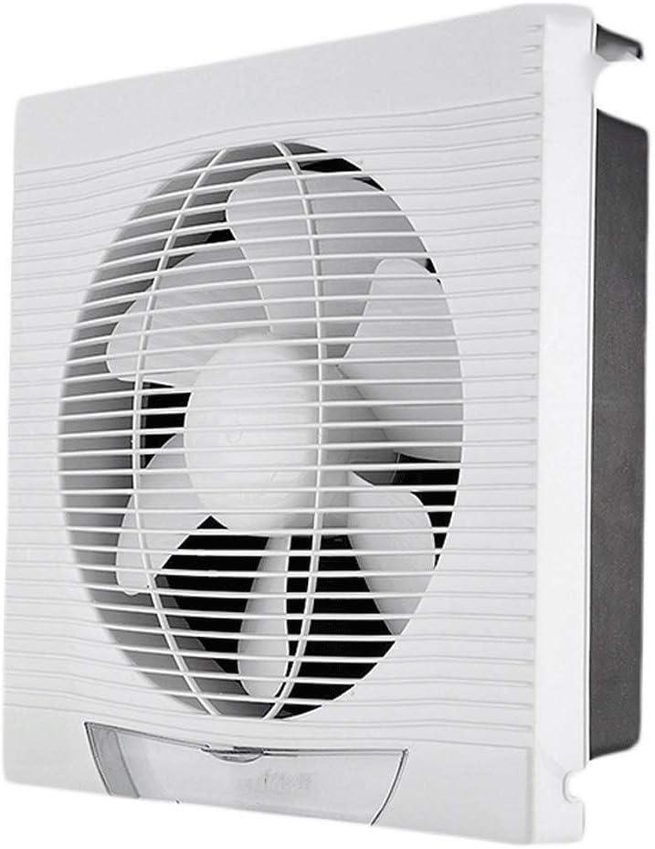 Extractor de ventilación de 12 pulgadas Cocina Aseo ventana de ventilación de tipo Extintor de la lumbrera de cristal del agujero redondo de la pared Calificación Voltaje: 220 V Potencia nominal: 40W