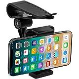 Geekercity Car Mount Cell Phone Holder Universal 360 Rotating Car Sun Visor Mount Support Clip Bracket for GPS Smartphones [3