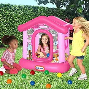 Amazon Com Little Tikes Clubhouse Play Center Ball Pit W