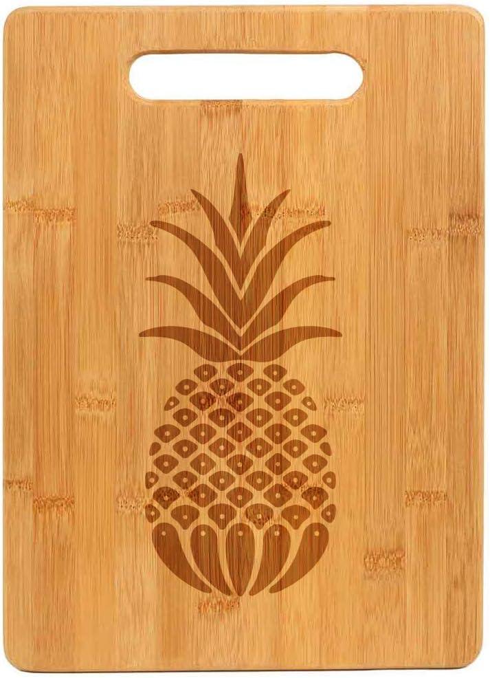 Bamboo Wood Cutting Board Pineapple