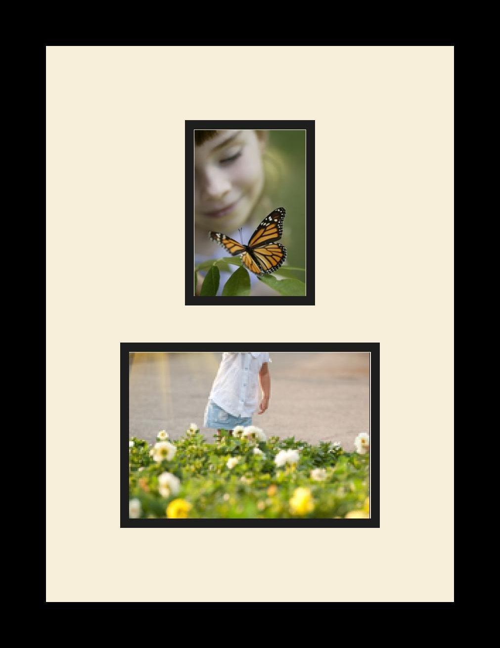 Großartig Bilderrahmen Mit öffnungen 3 5x7 Fotos ...