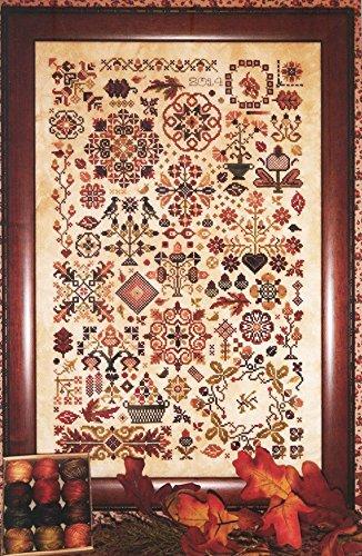Autumn Quakers cross-stitch pattern - Rosewood Manor - Karen Kluba Rosewood Manor Designs