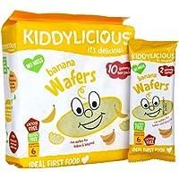 Kiddylicious Maxi Wafer banana, 40g