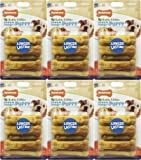 Nylabone Healthy Edible Puppy Sweet PotatoandTurkey 48ct Petite (6x8ct), My Pet Supplies
