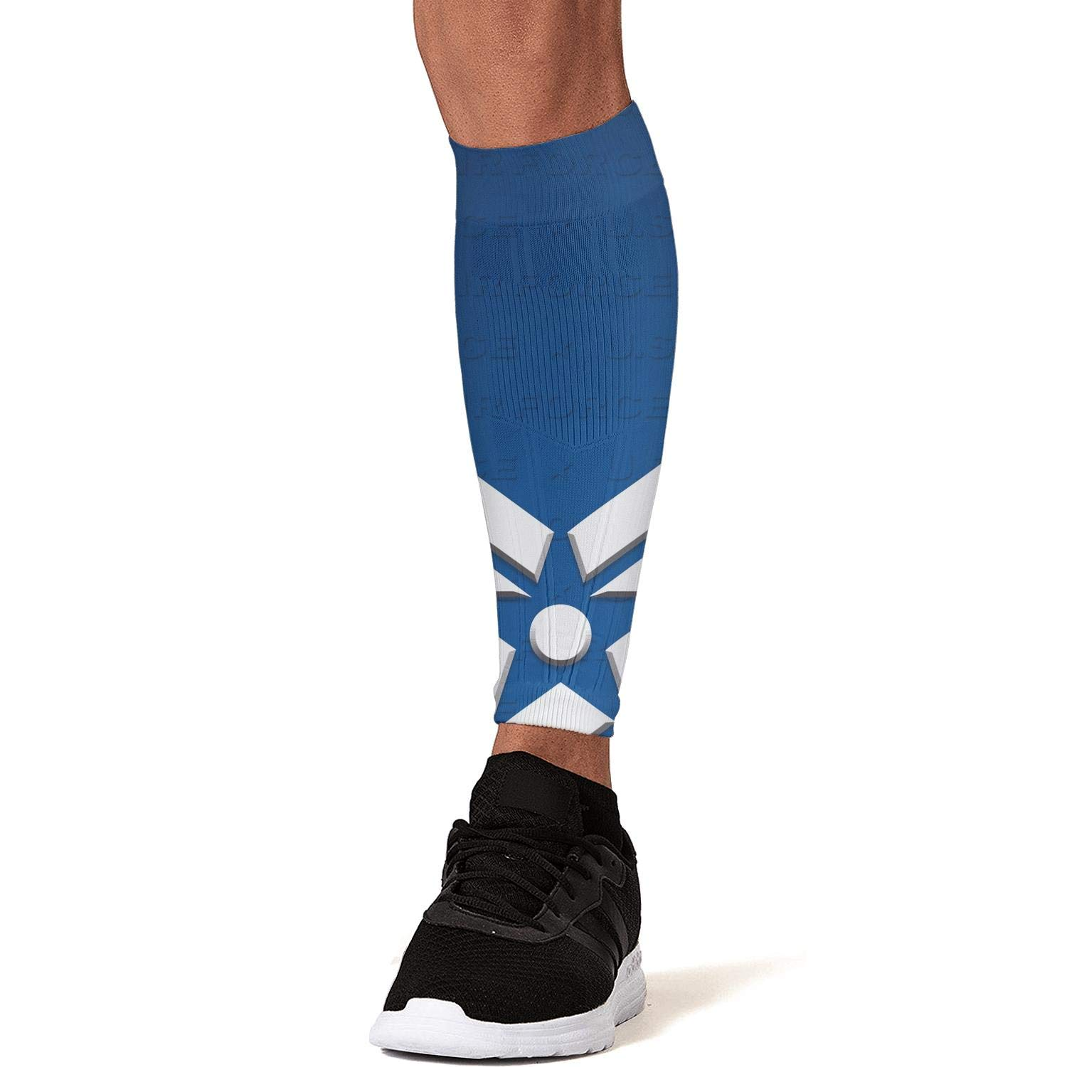 Smilelolly us air force Calf Compression Sleeves Helps Shin Splint Leg Sleeves for Men Women