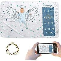 JMITHA - Manta para bebé con diseño