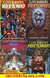 BOOK OF THE DAMNED HELLRAISER COMPANION vol. 1-4 complete set (BOOK OF THE DAMNED A HELLRAISER COMPANION (CLIVE BARKER'S))