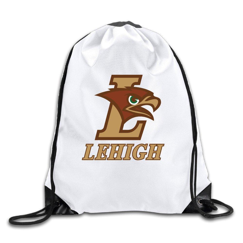 durable service Lehigh University Logo Men s Women s Shoulder Drawstring  Bag Backpack String Bags School Rucksack Gym bee8226818f70