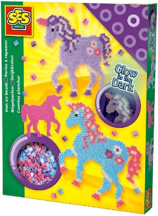 SES Cuentas para Planchar de Caballos de fantasía, Multicolor (06115)