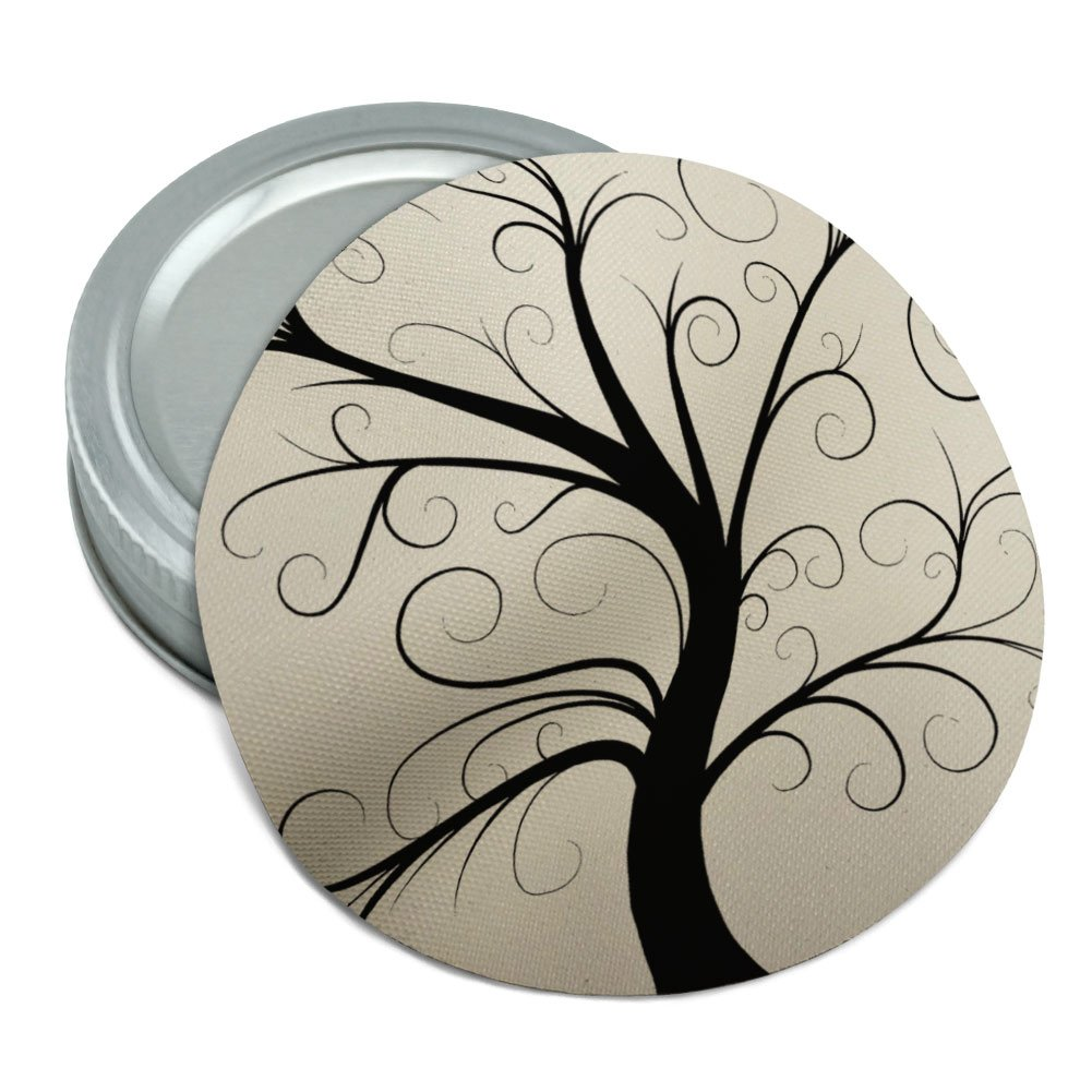 Tree of Life Round Rubber Non-Slip Jar Gripper Lid Opener Graphics and More