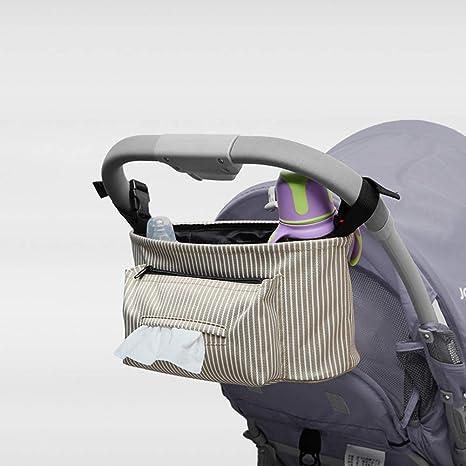 Organizador universal para cochecito de bebé, bolsa de almacenamiento para cochecito de bebé, organizador