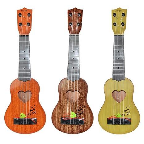 Guitarra Ukelele juguete para niños, Guitarra Niños Educativo ...