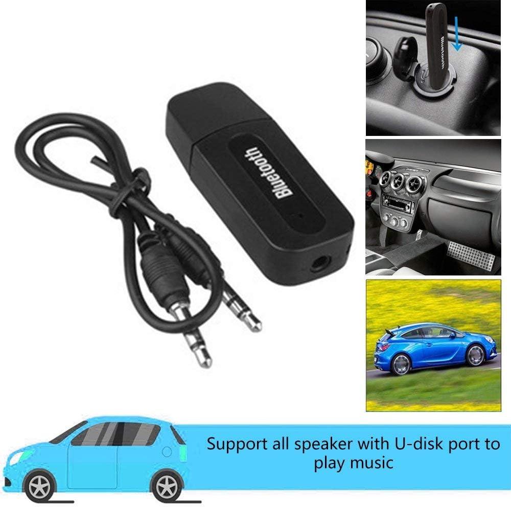 Mandalaa USB Car Adapter 3.5Mm Jack Receiver Wireless Aux Audio Mp3 Music Player Handsfree Car Tool , Bluetooth Receiver Adapter