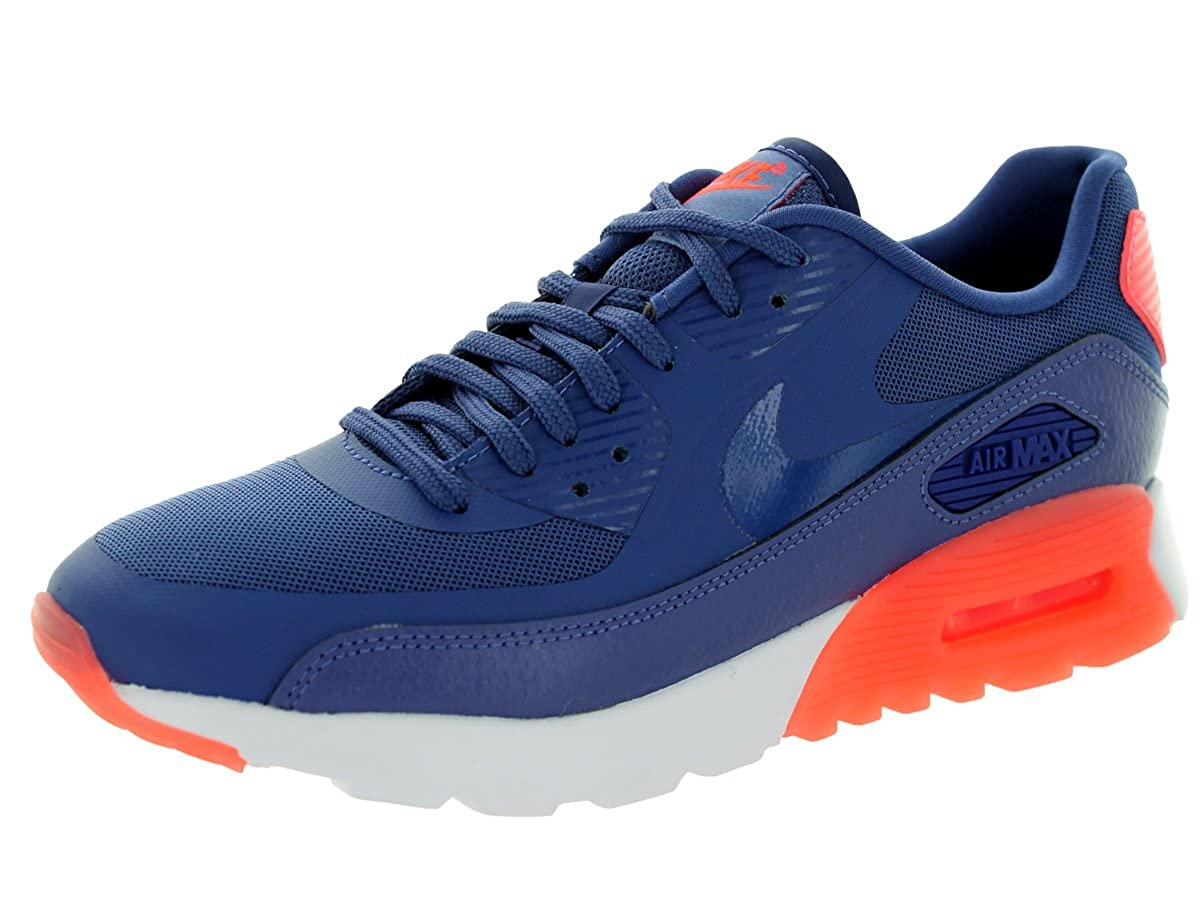 hot sale online 0215f 9ef4a Amazon.com   Nike Women s Air Max 90 Ultra Essential d d Ht Lv Snst GLW Running  Shoe 7 Blue   Road Running