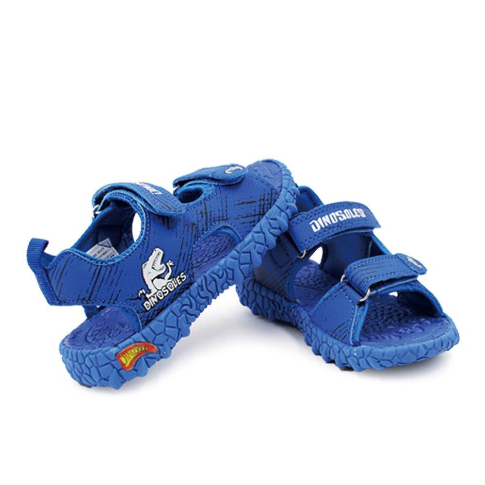 (Tyrannosaurus) Dinosaur Boy Sports Sandals for Little Kid by Dinosoles (Image #1)