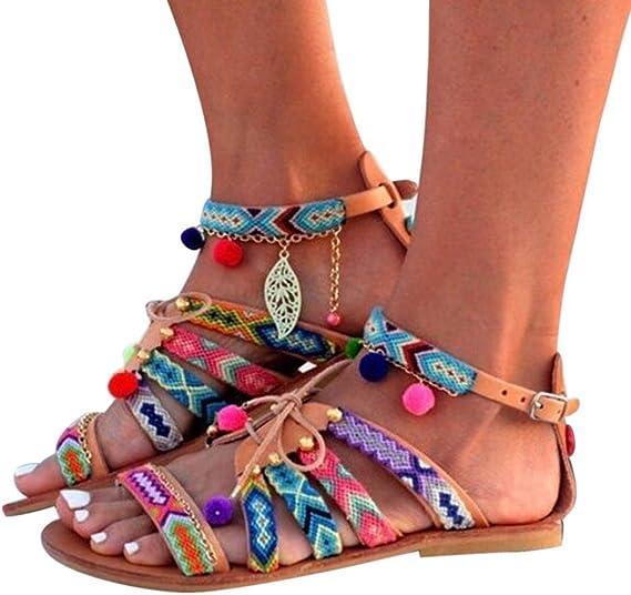 chaussure sandale cuir femme