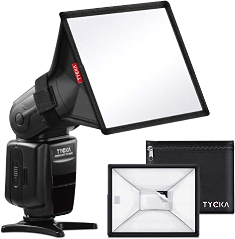 """Universal, Collapsible for Nikon Canon Sigma Sony Yongnuo TYCKA 13 x 8/"""" Flash Diffuser Translucent Light Softbox"""
