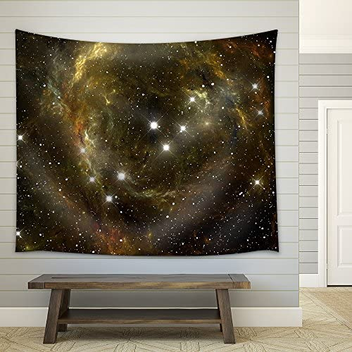 Colorful Space Star Nebula Fabric Wall