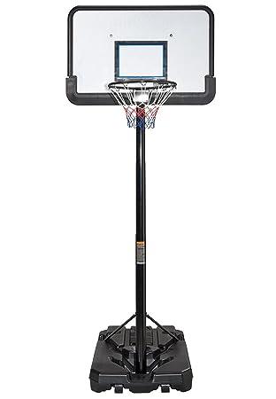 Canasta de baloncesto profesional, altura ajustable, portátil ...