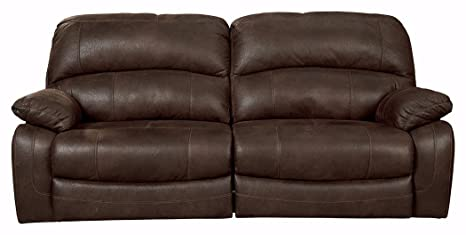 Ashley Furniture Signature Design - Zavier Reclining Sofa - Contemporary Recliner Seating - Truffle