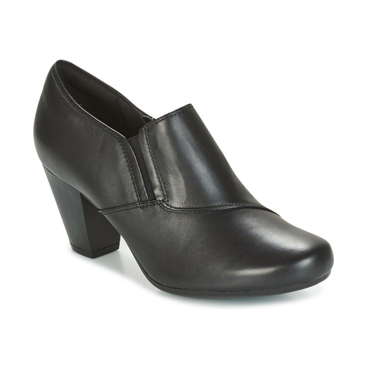 Clarks Garnit Colette - Black Leather 6.5 UK|Negro